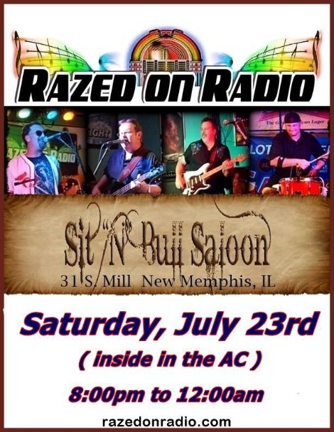 Razed On Radio 7-23-16