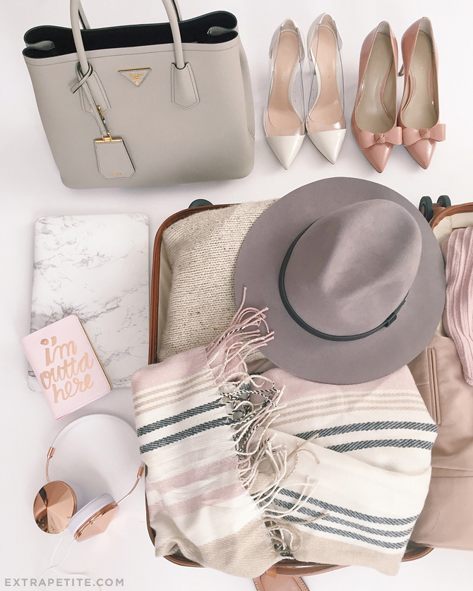 fall classic travel essentials whats in my suitcase
