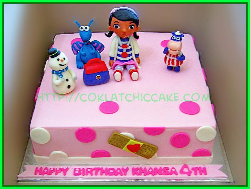 Cake Doc Mcstuffin