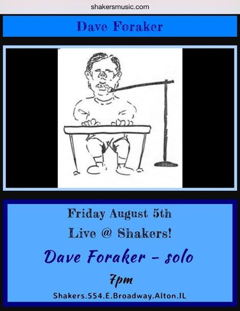 Dave Foraker 8-5-16