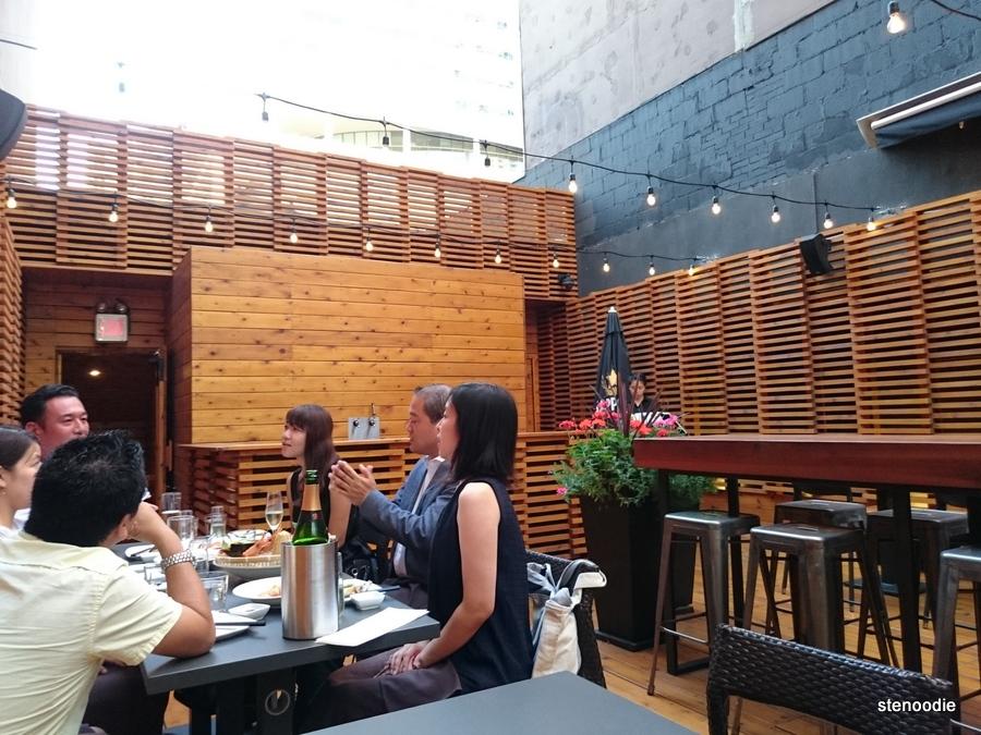 JaBistro's new renovated rooftop patio