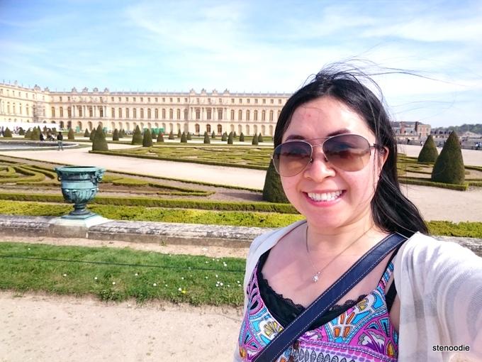 Palace of Versailles selfie