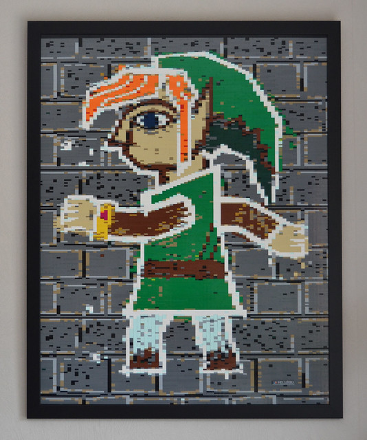 LEGO Mosaic: A Link Between Worlds