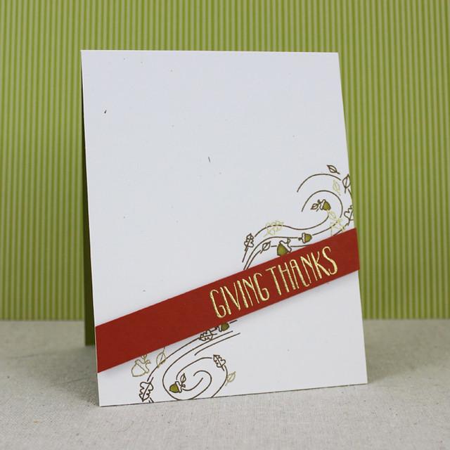 Giving Thanks Splits Card