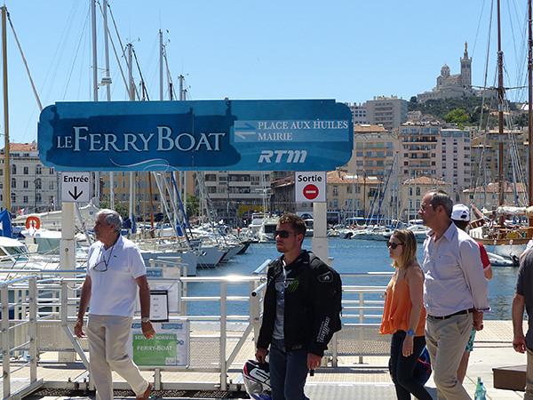 prendre le ferry boat