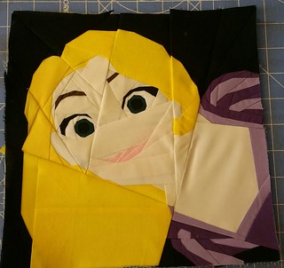 Once upon a time Disney Princess mystery quilt a long