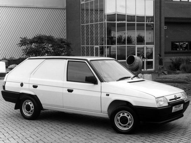 Фургон Skoda Favorit Freeway Plus II Van. 1991 – 1995 годы