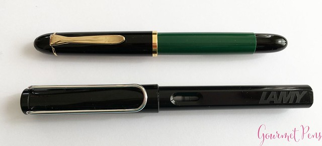 Review Pelikan M120 Green & Black Fountain Pen @couronneducomte 6