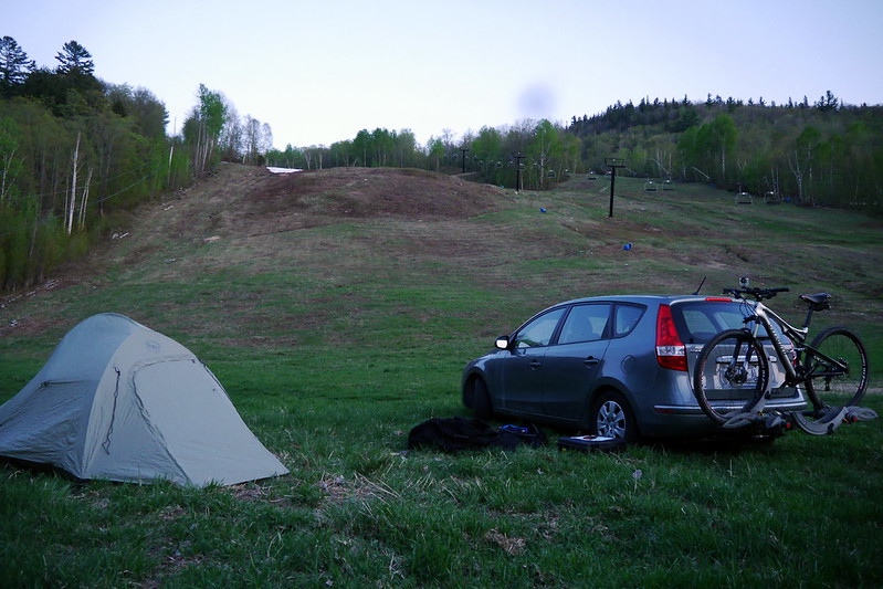 Slopeside Camping