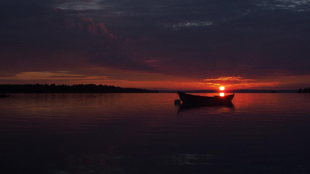 31.7. Heinäkuun viimeinen auringonnousu.
