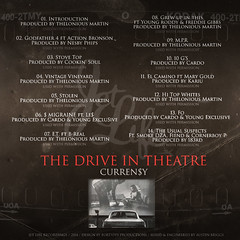 Curren$y - The Drive-In Theatre (Back)