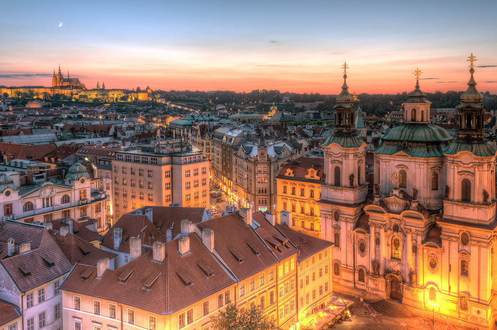 How to get from Vaclav Havel Airport Prague to the centre of Prague?