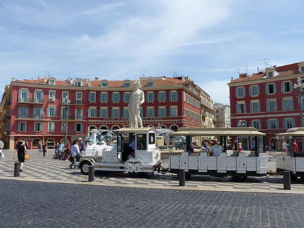 la place Masséna, Nice