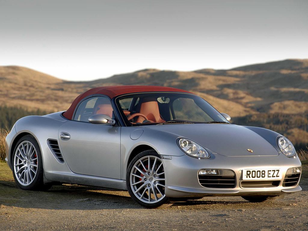Porsche Boxster S RS Spyder для рынка Великобритании