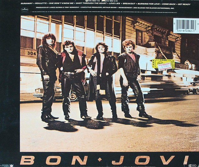 "BON JOVI S/T Self-Titled (DE) 12"" LP VINYL"