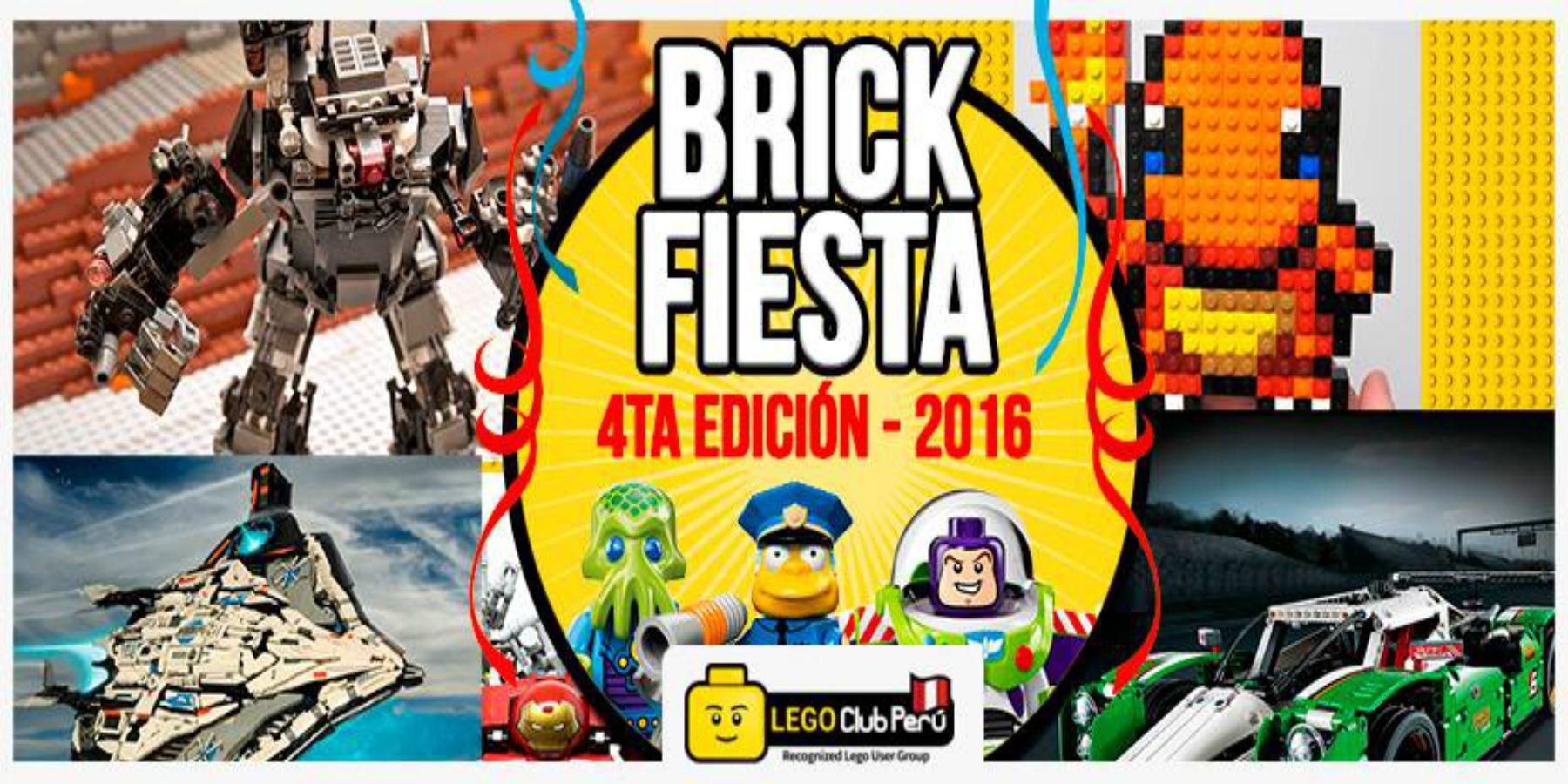 BrickFiesta 4ta edición - 2016