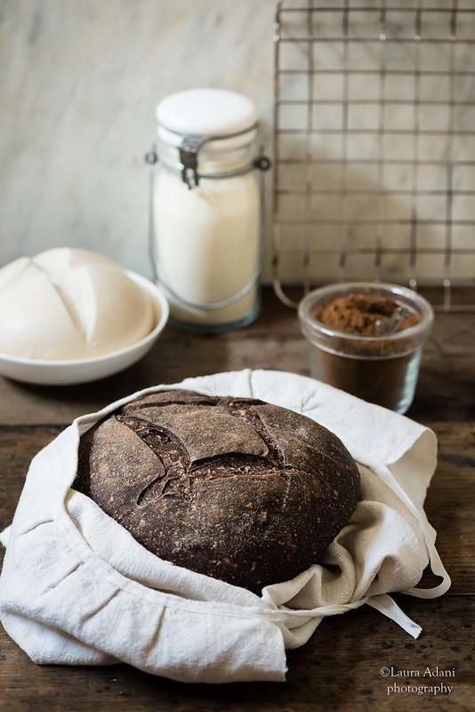Pane al grano arso (lievitazione naturale)