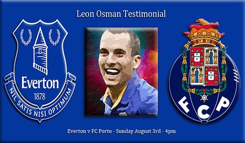 Everton v FC Porto banner
