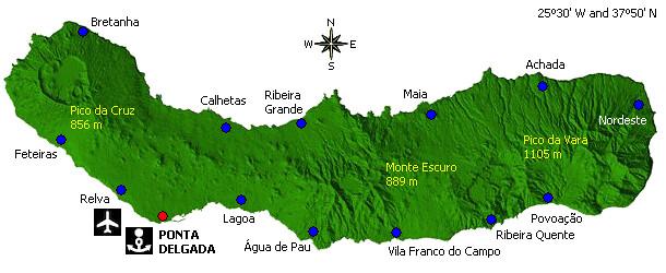 Sao Miguel Adası, Portekiz Buluşması
