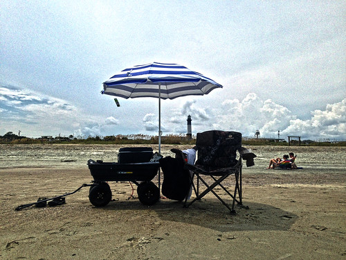 At Last - Beach Time on Tybee Island