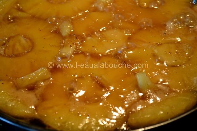 Fine Tatin à l'Ananas au Gingembre © Ana Luthi Tous droits réservés 0001