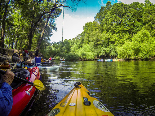 Edisto Beer Commercial and Rope Swing Float-5
