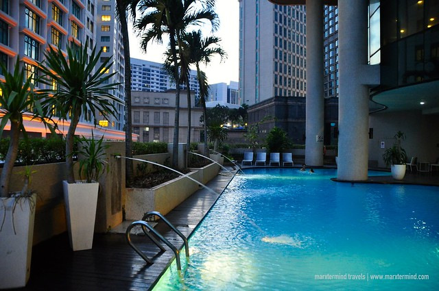 Experience the Outdoor Swimming Pool at Dorsett Kuala Lumpur