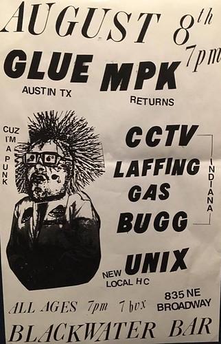 8/8/16 Glue/MPK/CCTV/LaffingGas/U-Nix
