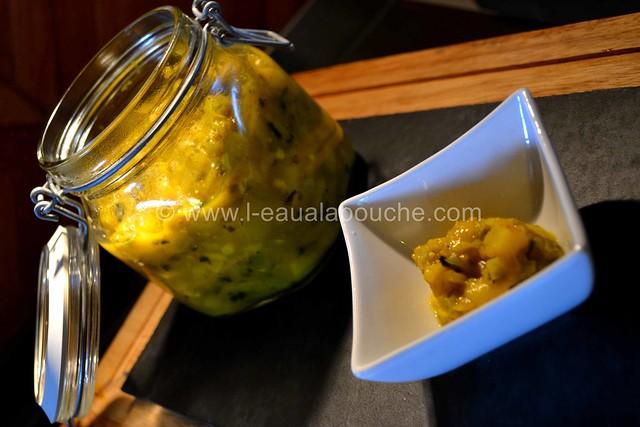 Chutney Mangue & Piments Verts © Ana Luthi Tous droits réservés 011