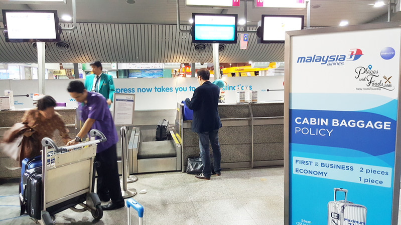 Malaysia Airlines Check In Services at KL Sentral