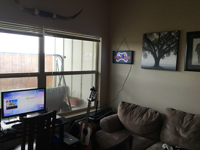 Recording in the Game Room