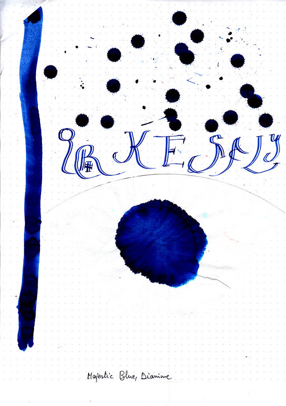 Diamine Magestic Blue-2