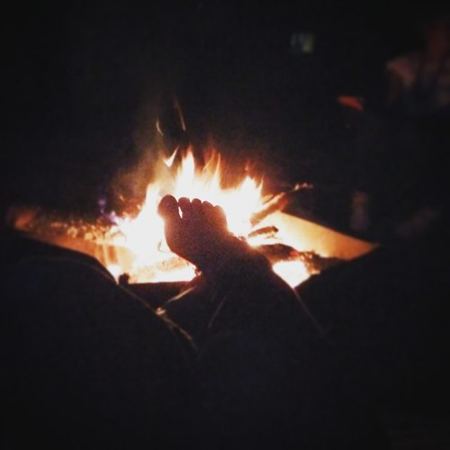 Geflambeerde tenen. #fosdereiger