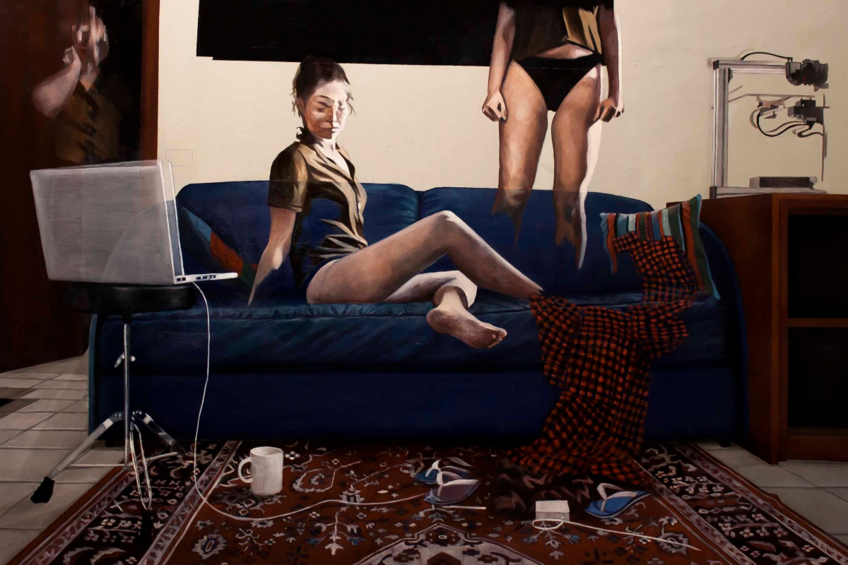 Paintings by Dario Maglionico