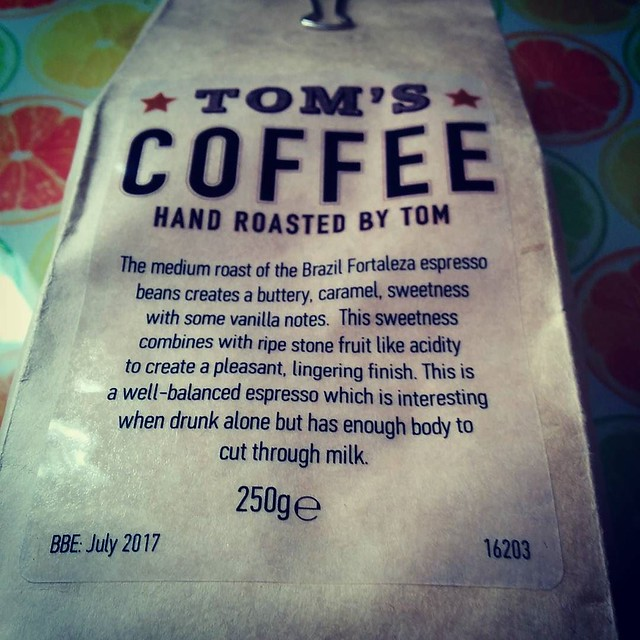 Tom's Coffee #coffee