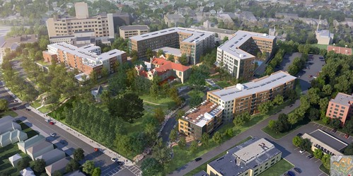Saint-Gabriels-Monastery-Redevelopment-Student-Housing-Washington-Street-Brighton-Boston-Cabot-Cabot-Forbes-Residential-Development-Project-Cube3-Studio-Rendering