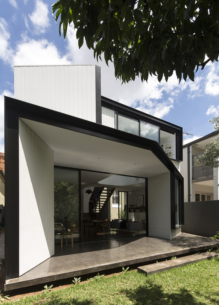 Современный дом в Питершаме, Сидней. Проект Кристофера Полли