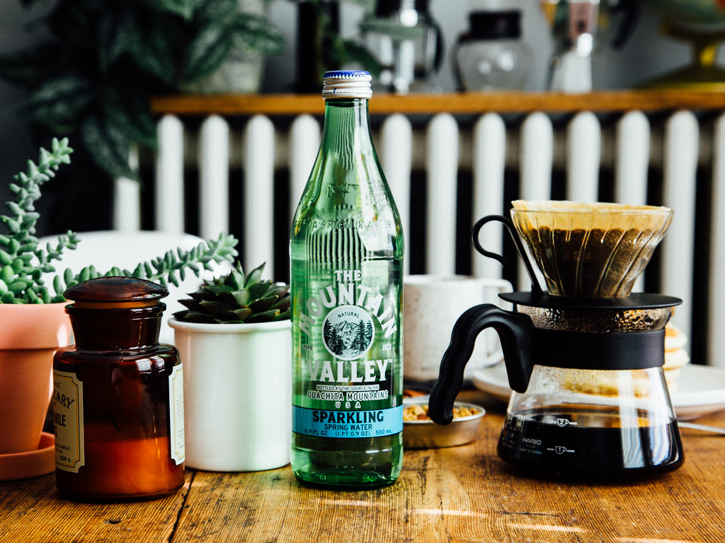 Mountain Valley sparkling mineral water