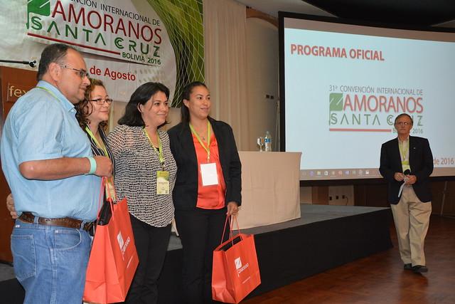 Reconocimientos Otorgados en la 31 Convención de Graduados en Bolivia