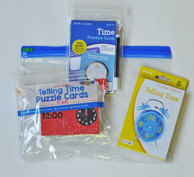 Telling Time Busy Bag