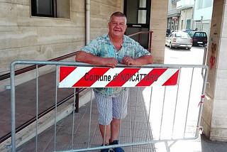 Noicattaro. Michele Cafagna in pensione front