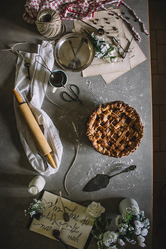 Salted Caramel & Whiskey Apple Pie // TermiNatetor Kitchen