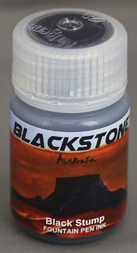 Ink Shot Review Blackstone Black Stump @AndersonPens 1