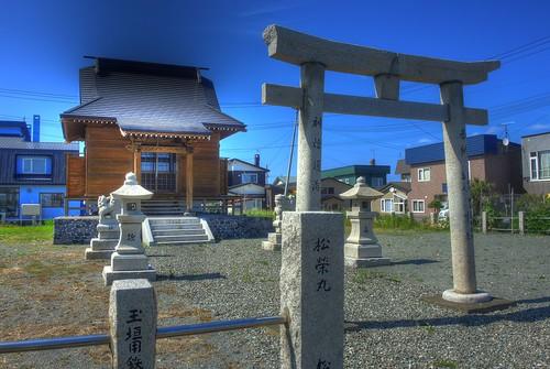 Misaki Shrine, Nosyappu, Wakkanai on JUL 16, 2016 (4)