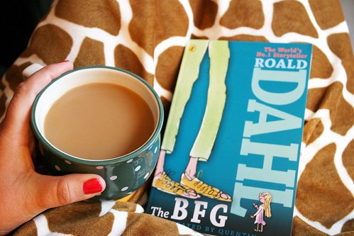 We picked our new read aloud today! The BFG by Roald Dahl. My ten year old has read this but it's a new one for the rest of us! And welcome to so many new followers sent here via @melissabeaver! For the new folks, I have four munchkins - 12, 10, and 9 yea