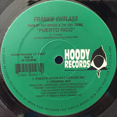 FRANKIE CUTLASS:PUERTO RICO(LABEL SIDE-B)