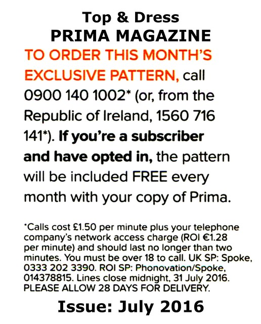 Prima Magazine - Pattern, July 2016 (04)