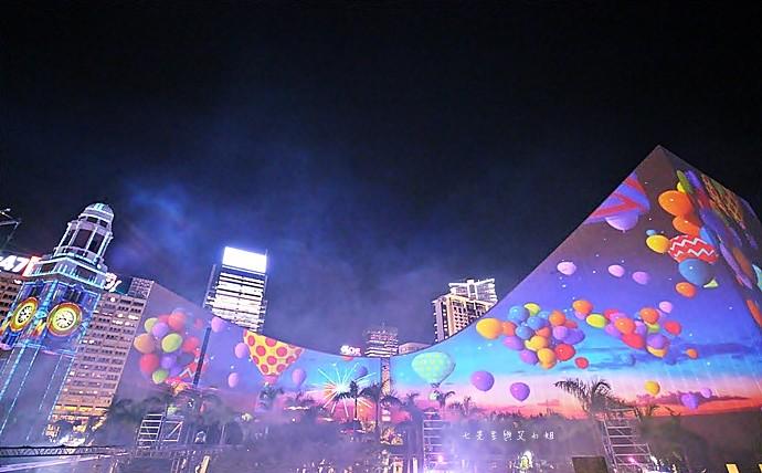 24 香港 閃躍維港 3D光雕匯演