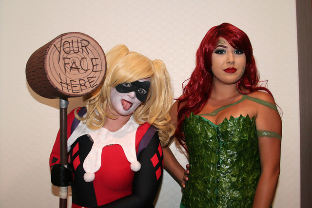 Batman Girls: Harley and Poison Ivy Cosplay Women