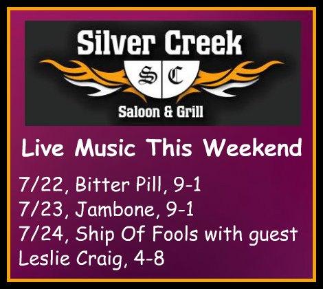Silver Creek Poster 7-22-16